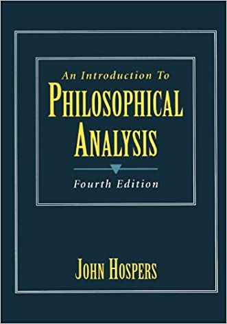 An Introduction to Philosophical Analysis (4th Edition)