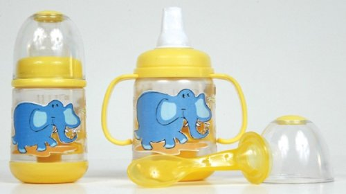 Nuby BPA FREE Infant Feeder Feeding Bottle Set