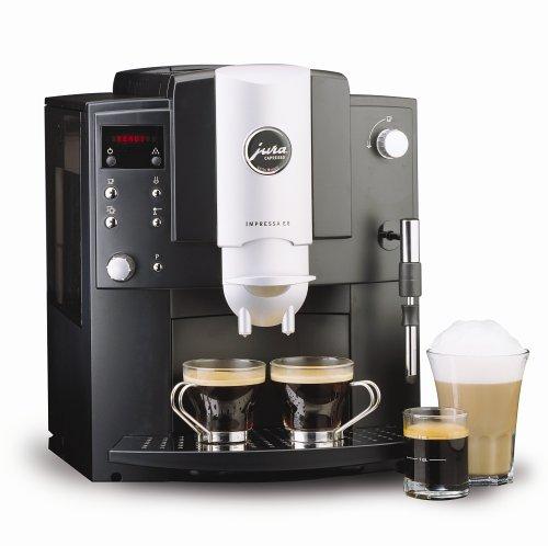 Jura-Capresso 13187 Impressa E8 Super-Automatic Espresso Machine, Black