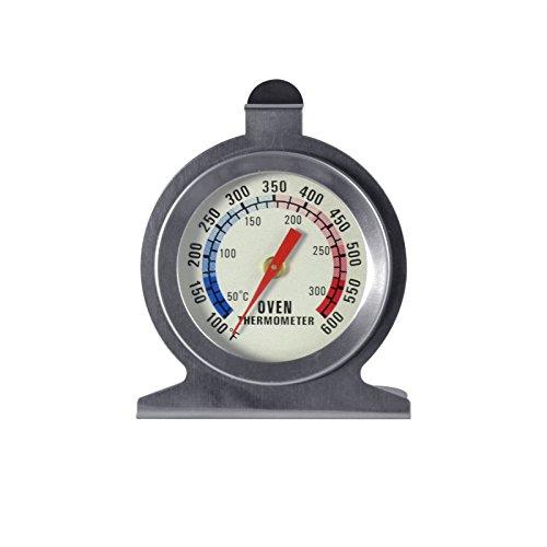 GUFAN® Thermomètre de four avec sonde en acier inoxydable/ 50° C à 300° C / 100° F à 600° F