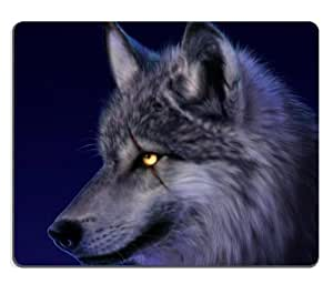 Amazon.com: Animal Wildlife Wolf Scar Night Howl Moon Cold ...