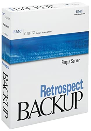 Dantz Retrospect 7 Single Server