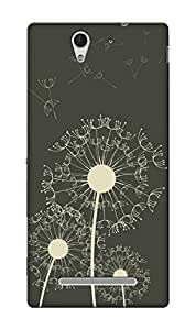 Blink Ideas Back Cover for Xperia C3