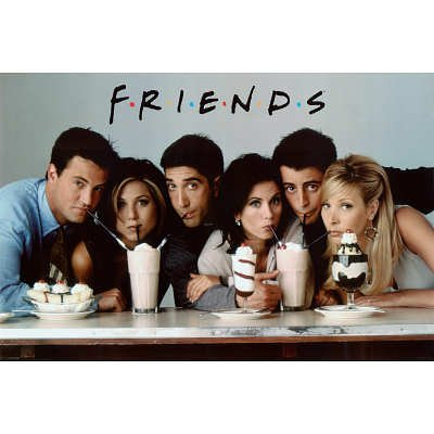 Friends Television Poster