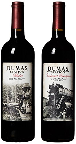 "Dumas Station ""Walla Walla Reds"" Estate Cab & Merlot (90+ Points) Mixed Pack, 2 X 750 Ml"