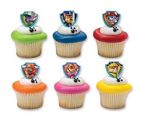 Decoraci n cupcakes la patrulla canina - Decoracion de la patrulla canina ...