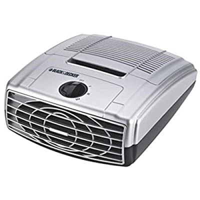 Black & Decker Table Top HEPAFreshTM Air Cleaner BXAP041 3 Speed HEPA Purifier with Pre and Charcoal Filters