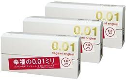 【Amazon.co.jp 限定】 サガミオリジナル 0.01 15個入
