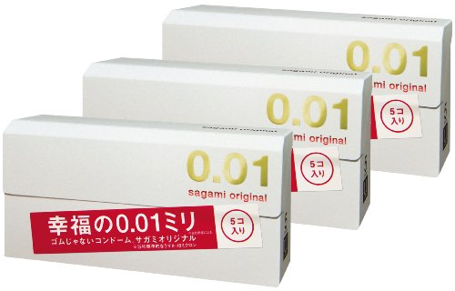 【まとめ買いセット】 サガミオリジナル 0.01 15個入