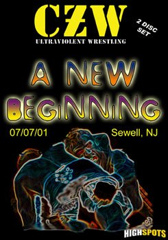 Czw- Combat Zone Wrestling- A New Beginning Double DVD-R Set