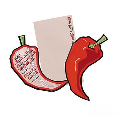 Fiesta Chile Peppers Invitations - 1