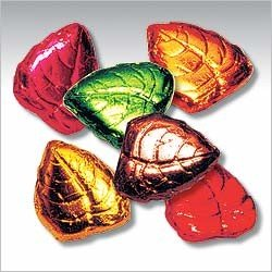 Fall Leaves Solid Milk Chocolate (1 Lb - Approx. 60 Pcs)