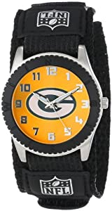 Game Time Mid-Size NFL-ROB-GB Rookie Green Bay Packers Rookie Black Series Watch