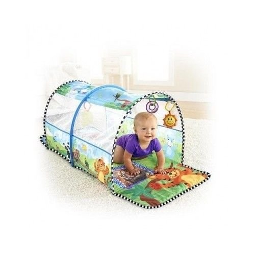 Lovely Kids Practical Kids Pillow Folding Mosquito Net Tent Kid Baby Travel Crib Bed Safety