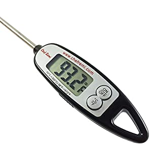 Chef Remi Digital Cooking Thermometer | Lifetime Replacement Warranty | Instant Read | Best for Turkey, Meat, Oven, Oil, Kitchen, Grill, BBQ, Candy any Any Food| Rated No.1 Grill Accessories from Chef Remi - America's Favorite Chef