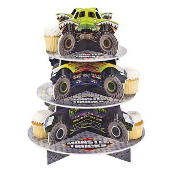 "OTC - Monster Truck Cupcake Holder, 12"" diam. x 14 1/2"" High"