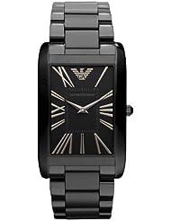Emporio Armani Black Ion Ladies Watch AR2064