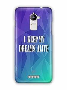 YuBingo I Keep My Dreams Alive Designer Mobile Case Back Cover for Coolpad Note 3 Lite