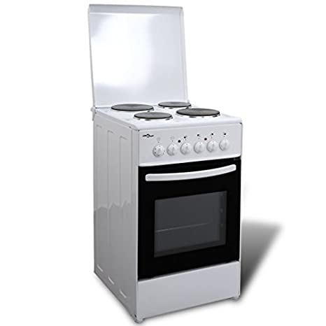 50342 Electric Free Standing Oven with 4 Hot Plates 50 x 60 cm - Untranslated