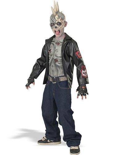 Punk Zombie Child Costume