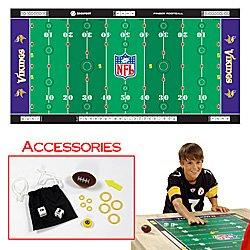 NFLR Licensed Finger FootballT Game Mat - Vikings. Product Category: Toys & Games > Finger FootballT > NFL NFC