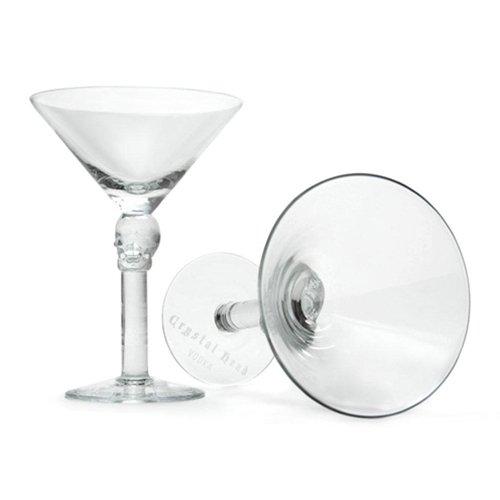 Amazon.com   Crystal Head Vodka Skull-tini Martini Glass (1): Martini