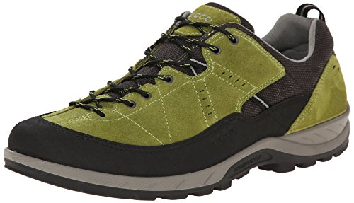 ECCO Yura Men's Scarpe Sportive Outdoor, Uomo, Verde(Black/Herbal 57502), 40