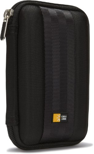 Case Logic QHDC-101 Portable EVA Hard Drive Case  (Black)