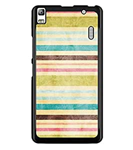 PrintDhaba Pattern D-5302 Back Case Cover for LENOVO A7000 TURBO (Multi-Coloured)