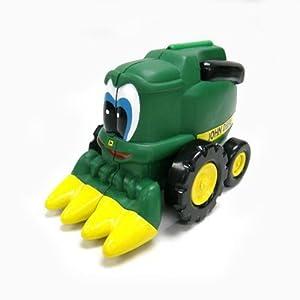 John Deere Corey Combine Tractor Farm Friend Toy Book by Learning Curve