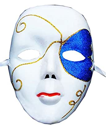 AnVei-Nao Womens Butterfly Painted Venice Masquerade Mask Costume Halloween