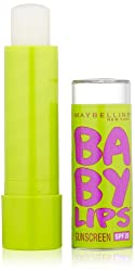 Maybelline Baby Lips Moisturizing Lip Balm, Peppermint, 4g