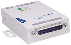 Lantronix Uds-10 Device Server DB25 Port RJ45 Port For Enet 110 Vac Pwr Sup