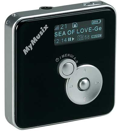 MyMusix MP3 Player - PD-201