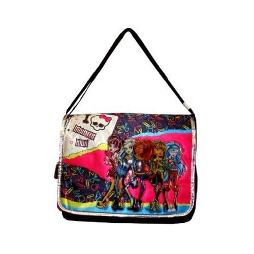 I Skull Monster High Messenger Bag - Monster High Laptop Bag