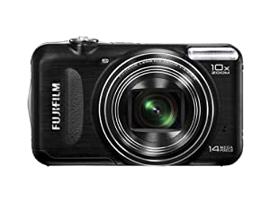 Fujifilm FinePix T200 Digital Camera - Black (14MP, 10x Optical Zoom) 2.7 inch LCD Screen