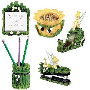 Buy Disney 5 Pc. Tink Fairies Desk Set Tinker Bell Tinkerbell Office Set