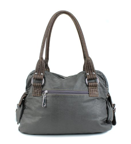 Scarleton Large Shoulder Bag H106724 - Ash