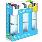 Sodastream 1041342490 Bottiglie per gasare, confezione da 3 x 1 Litro