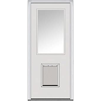 National Door Company Z000305R Flush Fiberglass Smooth