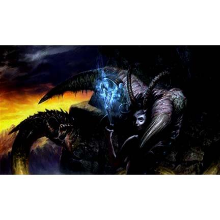 Artists of Magic Premium Playmats: SERVANT OF THE DEMONESS w/Artwork by Jim Pavelec