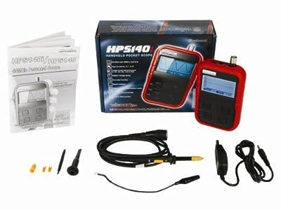 Velleman HPS140I Handheld Pocket Scope, 40 MS/s, Probe Included