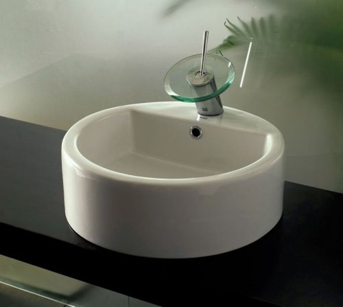Porcelain Mop Sink : OXO Porcelain Bathroom Sink, Italian Design, New #1005 (ellas Sinks ...