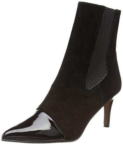 Paco Gil P2900, Stivali con tacco Chelsea donna, colore Nero  , taglia 38.5