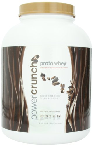 Bio Nutritional Power Crunch Proto Whey Double Chocolate 5.3 lbs by Bionutritional Research Group
