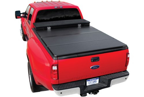 Extang 84455 Tonneau Cover - Solid Fold 2.0 Toolbox Series - Fits Chevy/GMC Silverado/Sierra 1500 (8 ft) 2014-15, 2500/3500HD - 2015 (Toolbox For Chevy Silverado compare prices)
