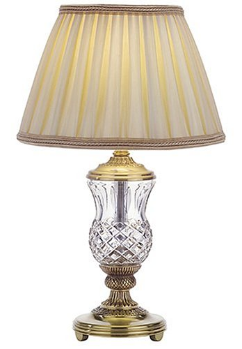 Salt Lamps Waterford : Crystal Table Lamps: Waterford Crystal 19-Inch Thistle Accent Lamp