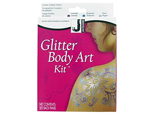 Jacquard Mehndi Glitter Body Art Kit - 1