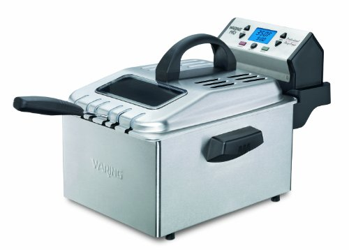 Why Should You Buy Waring Pro DF280 Professional Deep Fryer, Brushed Stainless