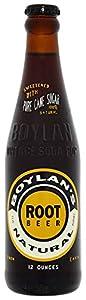 Boylan Diet Root Beer Natural 355 ml (Pack of 12)